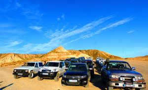 Incentive dans le désert de Bardenas