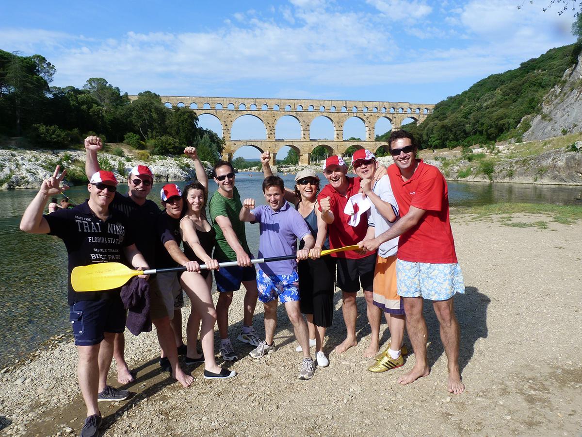 Séminaire au pont du Gard
